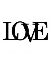 Napis dekoracyjny na ścianę LOVE -2 - DekoSign