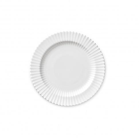 Fotografia, na której jest Talerz porcelanowy biały - MAŁY - 4 szt - Lyngby