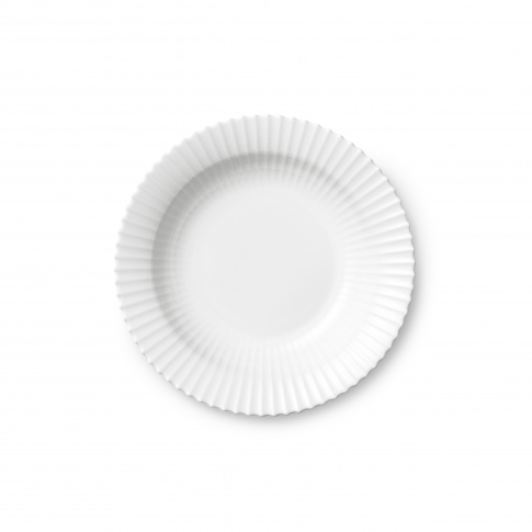Fotografia, na której jest Talerz porcelanowy biały - GŁĘBOKI - 4 szt - Lyngby