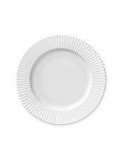 Talerz porcelanowy biały - DUŻY - 4 szt - Lyngby