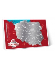 Mapa Zdrapka - Mapa Polski - Travel Map™ Polish Edition