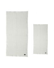Komplet dwóch ręczników - jasny szary