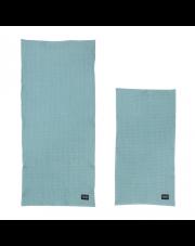 Komplet dwóch ręczników - niebieski