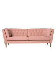 Sofa PAUSE - różowy - bawełna - Bloomingville