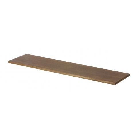 Fotografia, na której jest Półka drewniana ciemny dąb - ferm LIVING