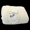 Fotografia, na której jest Kocyk Cottonlove śmietankowy - MAYLILY