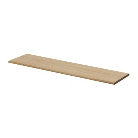 Fotografia, na której jest Półka drewniana jasny dąb - ferm LIVING