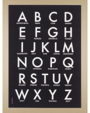 Plakat A3 Blackboard Abc