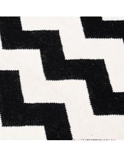 Wełniany dywan CHEVRON BLACK WHITE II - White Oaks