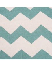 Wełniany dywan CHEVRON MINT - White Oaks