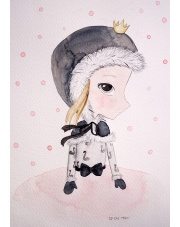 Plakat Snow Princess - To The Moon