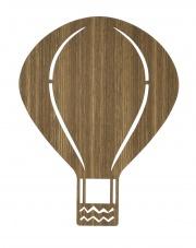 Lampa BALON - ciemny dąb - ferm LIVING