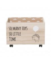 Pudełko na zabawki z jeżykiem - Bloomingville