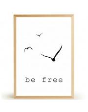 Plakat BE FREE - FOX ART STUDIO