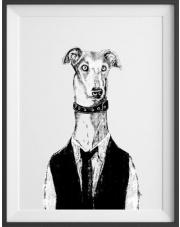 Plakat Krupier Felix - kreska