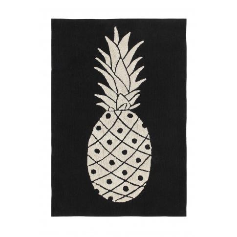 Fotografia, na której jest Dywan w skandynawskim stylu bawełniany – Ananas