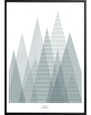 Plakat FOREST - 50x70 cm - IHANNA HOME