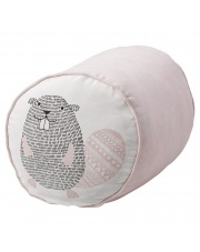 Skandynawski puf dla dzieci Pink Beaver