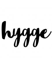 Napis dekoracyjny na ścianę HYGGE - DekoSign