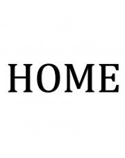 Napis dekoracyjny na ścianę HOME - 1 - DekoSign