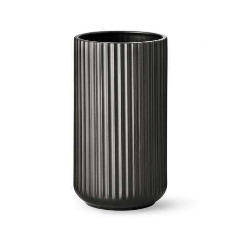 Fotografia, na której jest Wazon porcelanowy czarny - różne rozmiary - Lyngby