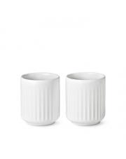 Kubek termiczny 300 ml biały - 2 szt - Lyngby