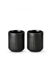Kubek termiczny 300 ml czarny - 2 szt - Lyngby