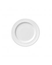 Talerz porcelanowy biały - MAŁY - 4 szt - Lyngby