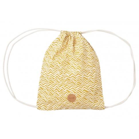 Fotografia, na której jest Plecak worek CURRY WAVE - ferm LIVING