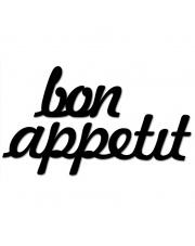 Napis dekoracyjny na ścianę BON APPETIT - DekoSign