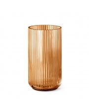 Wazon szklany bursztynowy - różne rozmiary - Lyngby