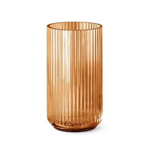Fotografia, na której jest Wazon szklany bursztynowy - różne rozmiary - Lyngby
