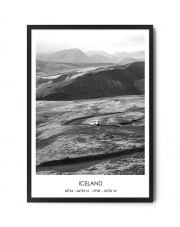Plakat ICELAND TRIP - FOX ART STUDIO