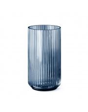 Wazon szklany niebieski - różne rozmiary - Lyngby
