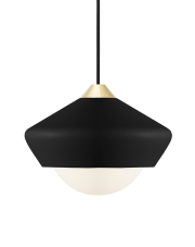 Lampa Bright Moon - czarna - Nordic Tales