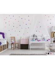 KONFETTI 1 | naklejki do pokoju dziecięcego - Pastelowelove