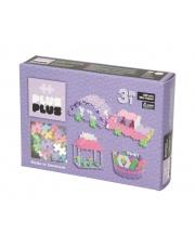 Klocki Plus Plus - Mini Pastel - 220 szt. | 3 w 1