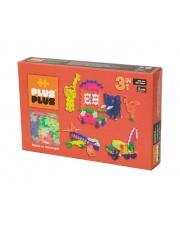 Klocki Plus Plus - Mini Neon - 480 szt. | 3 w 1