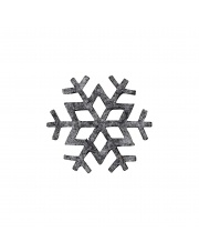 Śnieżynka z filcu Snowflake