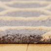 Fotografia, na której jest Dywan wełniany MOROCCAN PATTERN - White Oaks