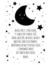 ANIELE BOŻY | plakat do pokoju dziecięcego - Pastelowelove