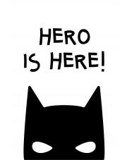 HERO | plakat do pokoju dziecięcego - Pastelowelove