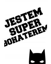 HERO 4 | plakat do pokoju dziecięcego - Pastelowelove