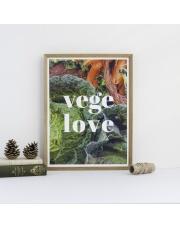 Plakat VEGE LOVE - Follygraph