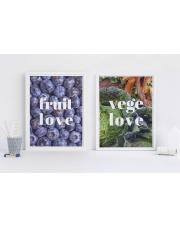 Zestaw plakatów FRUIT&VEGE LOVE - Follygraph