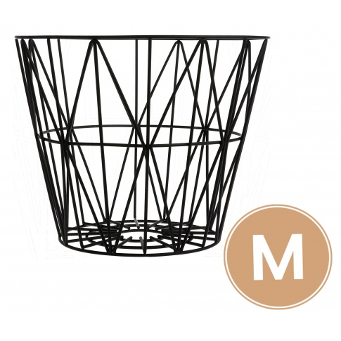 Fotografia, na której jest Kosz metalowy Basket