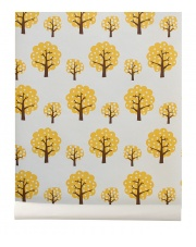 Tapeta drzewa Yellow Trees