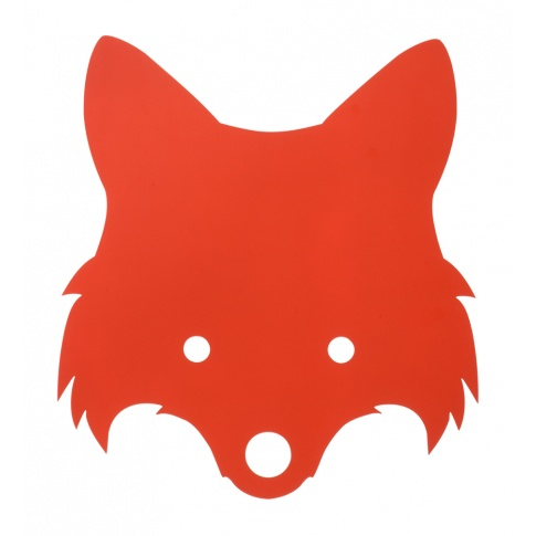 Fotografia, na której jest Lampa LISEK - czerwona pomarańcza - ferm LIVING