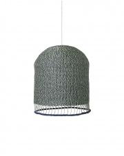 KOMPLET | Lampa pleciona BRAIDED LAMPSHADE - wysoka