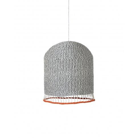 Fotografia, na której jest KOMPLET | Lampa pleciona BRAIDED LAMPSHADE - średnia